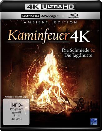 Kaminfeuer - Die Schmiede & Die Jagdhütte (4K Ultra HD + Blu-ray)