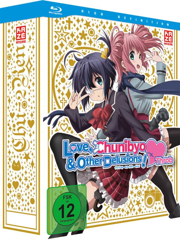 Love, Chunibyo & Other Delusions - Heart Throb: Staffel 2 - Vol. 1 (2014) (+ Sammelschuber, Edizione Limitata)