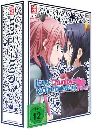 Love, Chunibyo & Other Delusions! - Heart Throb - Staffel 2 - Vol. 1 (2014) (+ Sammelschuber, Limited Edition, Collector's Edition)