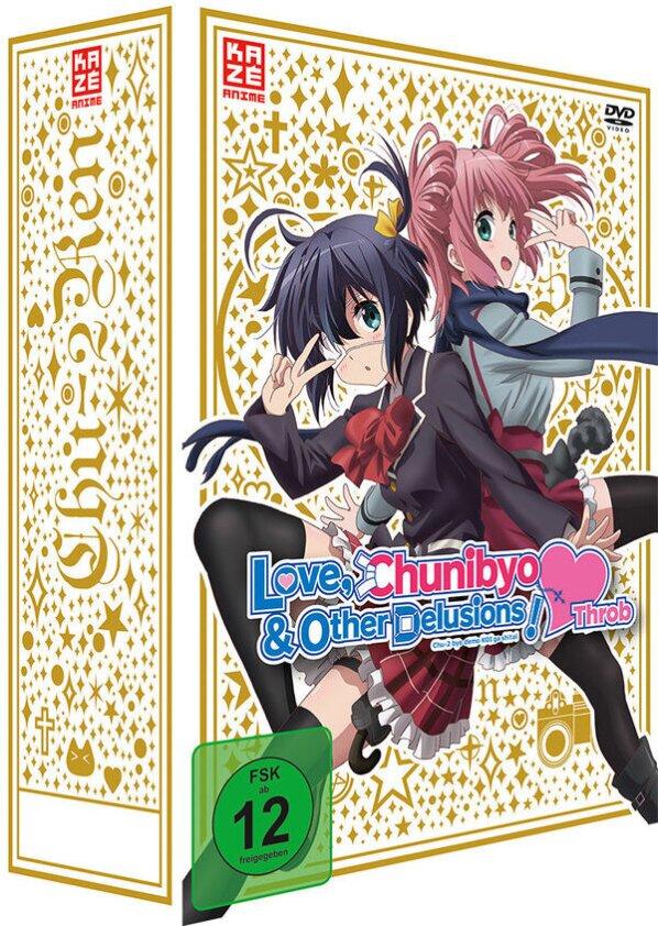 Love, Chunibyo & Other Delusions! - Heart Throb - Staffel 2 - Vol. 1 (2014) (+ Sammelschuber, Edizione Limitata)