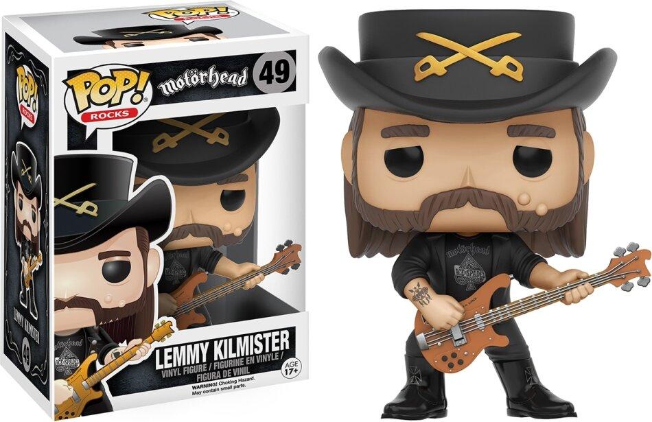 Motörhead: Lemmy POP! 49 - Vinyl Figur