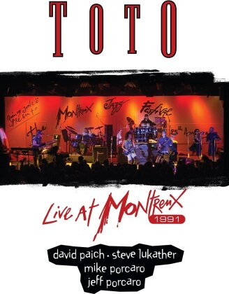 Toto - Live at Montreux 1991 (DVD + CD)