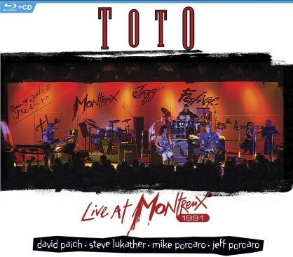 Toto - Live at Montreux 1991 (Blu-ray + CD)