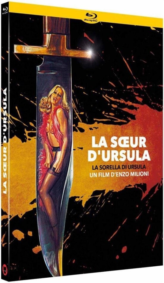 La soeur d'Ursula (1978) (Digibook, Limited Edition, Blu-ray + DVD)