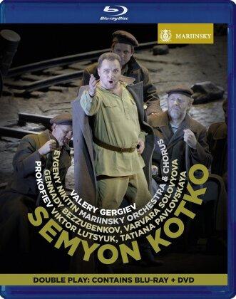 Mariinsky Orchestra, Valery Gergiev, … - Prokofiev - Semyon Kotko (Blu-ray + DVD)