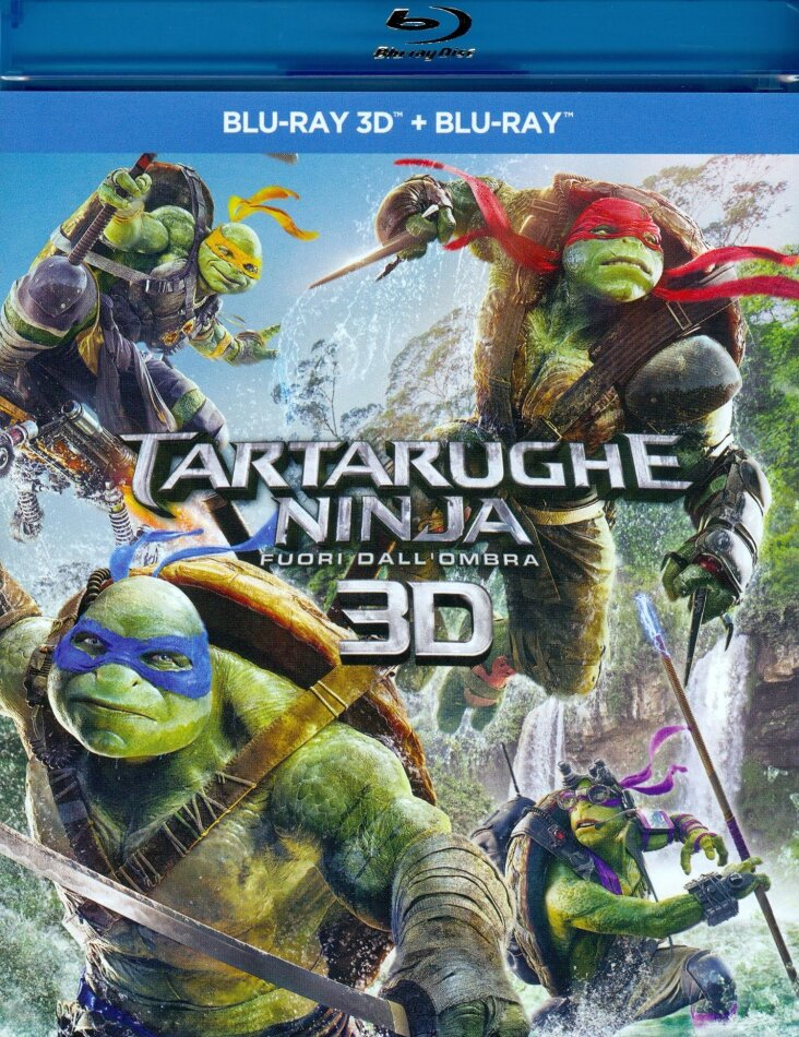 Tartarughe Ninja 2 - Fuori dall'ombra (2016) (Blu-ray 3D + Blu-ray)