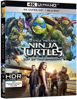 Tartarughe Ninja 2 - Fuori dall'ombra (2016) (4K Ultra HD + Blu-ray)