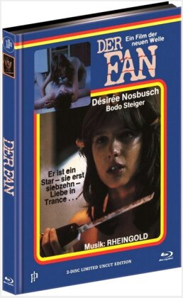 Der Fan (1982) (Limited Edition, Mediabook, Uncut, Blu-ray + DVD)