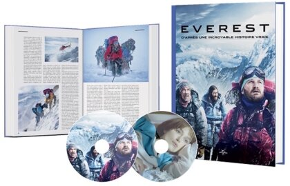 Everest / Meru (Limited Edition, 2 DVDs + Buch)