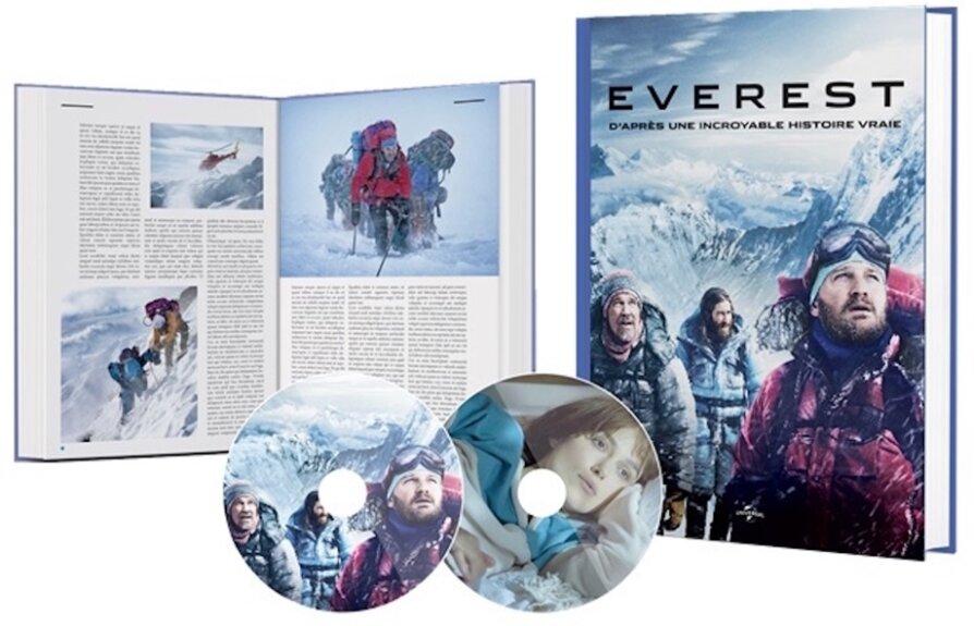 Everest / Meru (Limited Edition, 2 DVDs + Buch)