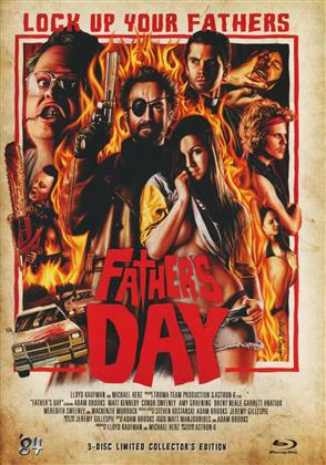 Father's Day (2011) (Cover B, Collector's Edition, Limited Edition, Mediabook, Blu-ray + 2 DVDs)