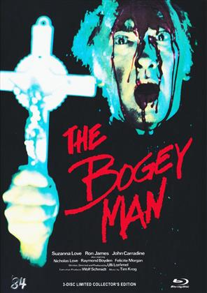 The Bogey Man (1980) (Cover C, Limited Collector's Edition, Mediabook, Blu-ray + DVD + CD)