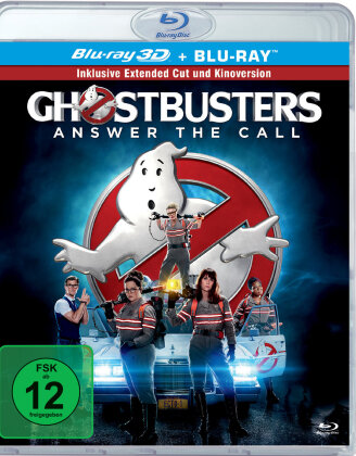 Ghostbusters (2016) (Extended Edition, Versione Cinema, Blu-ray 3D + Blu-ray)