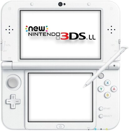 New 3DS Konsole XL Pearl White (ohne Netzteil) - Taille XL