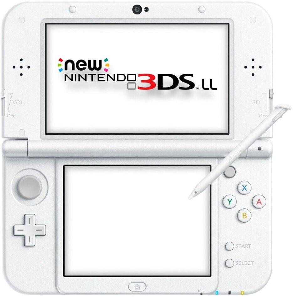 New 3DS Konsole XL Pearl White (ohne Netzteil) - Grösse XL