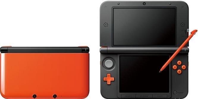 Nintendo New 3DS XL Console - orange/black [New 3DS XL] - Grösse XL