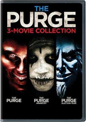 The Purge / The Purge: Anarchy / The Purge: Election Year (The Purge 3-Movie Collection, 3 DVDs)