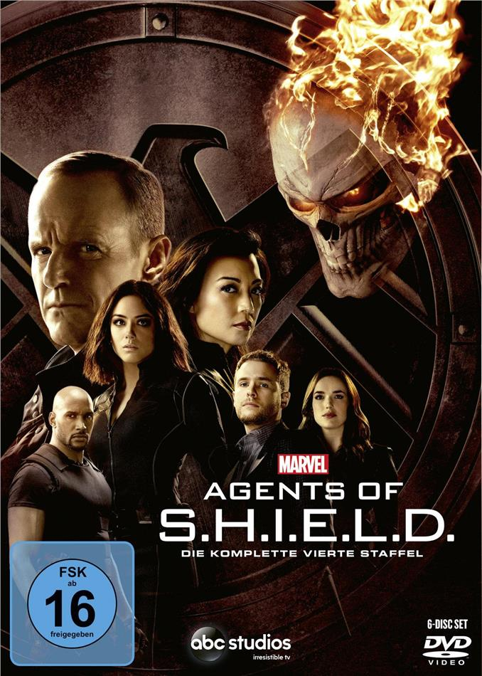 Agents of S.H.I.E.L.D. - Staffel 4 (6 DVDs)