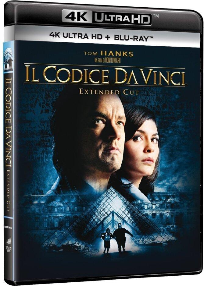 Il Codice Da Vinci (2006) (Extended Cut, 4K Ultra HD + Blu-ray)