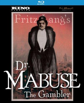 Dr. Mabuse - The Gambler (1922) (Kino Classics, s/w, 2 Blu-rays)