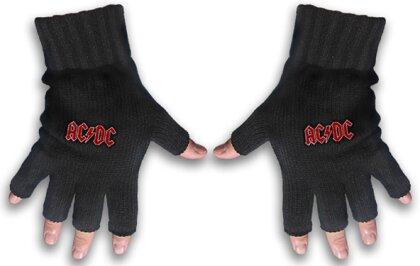 AC/DC - Classic Red Logo Handschuhe