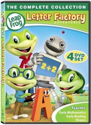 Leapfrog Letter Factory Adventures - Leapfrog Letter Factory Adventures (4PC) (4 DVDs)