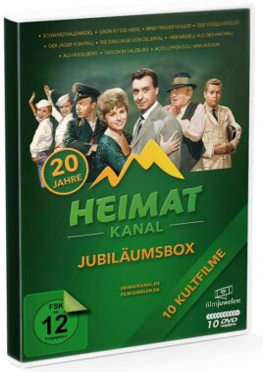 Heimatkanal Jubiläumsbox (Filmjuwelen, 10 DVDs)