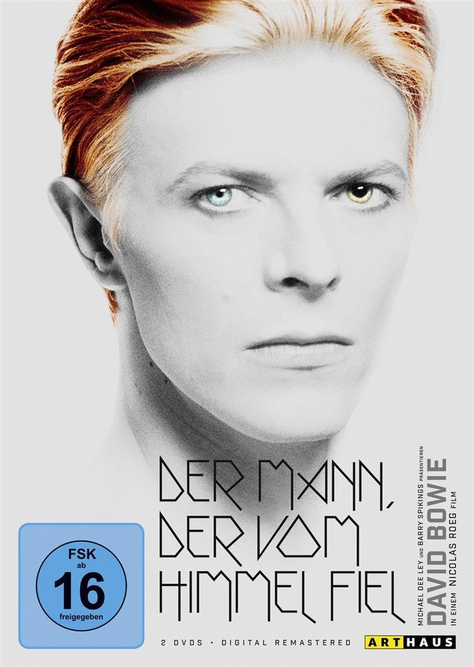 Der Mann, der vom Himmel fiel (1976) (Digital Remastered, Arthaus, 2 DVDs)