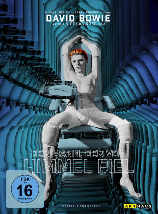 Der Mann, der vom Himmel fiel (1976) (Limited Mediabook, Digitally Remastered, Arthaus, 40th Anniversary Edition, 2 DVDs + CD)