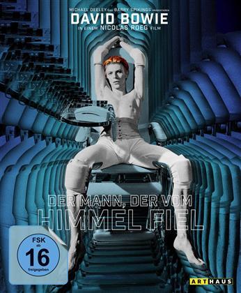 Der Mann, der vom Himmel fiel (1976) (Arthaus, 40th Anniversary Edition, Limited Edition, Mediabook, Blu-ray + CD)