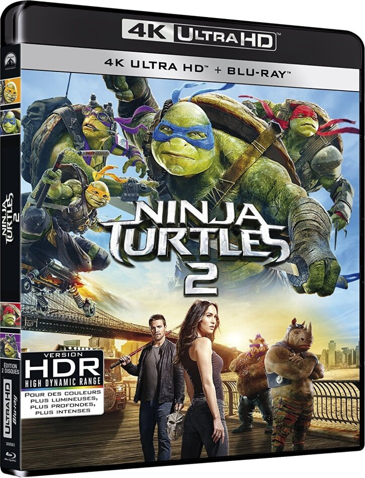 Ninja Turtles 2 (2016) (4K Ultra HD + Blu-ray)