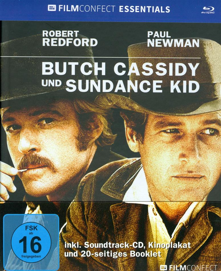 Butch Cassidy und Sundance Kid (1969) (Filmconfect Essentials, Blu-ray + CD)