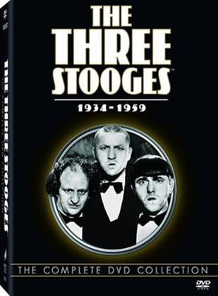 The Three Stooges Collection - The Complete Set: Vol. 1 - 8 / 1934-1959 (17 DVDs)