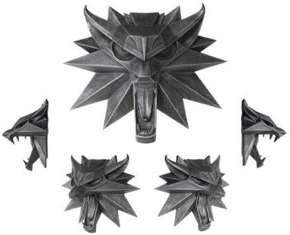 Witcher 3 Wild Hunt: Wolf - Wand-Skulptur