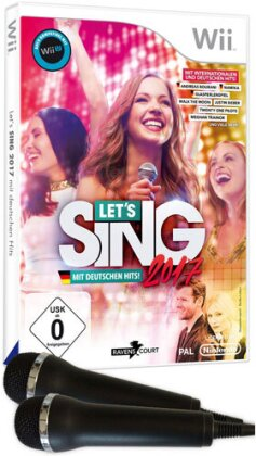 Let's Sing 2017 + Deutsche Hits - inkl. 2 Mikros