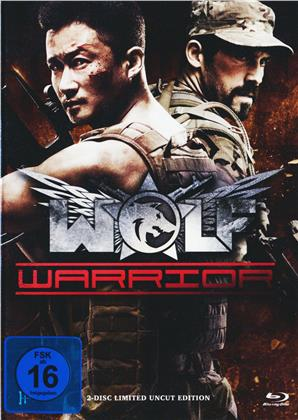 Wolf Warrior (2015) (Cover A, Limited Uncut Edition, Mediabook, Blu-ray + DVD)