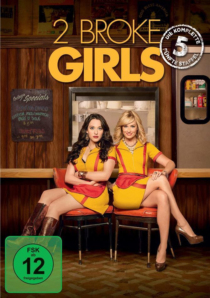 2 Broke Girls - Staffel 5 (3 DVDs)