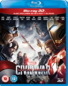 Captain America 3 - Civil War (2016) (Blu-ray 3D + Blu-ray)
