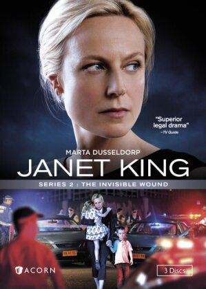 Janet King - Series 2: The Invisible Wound (3 DVDs)