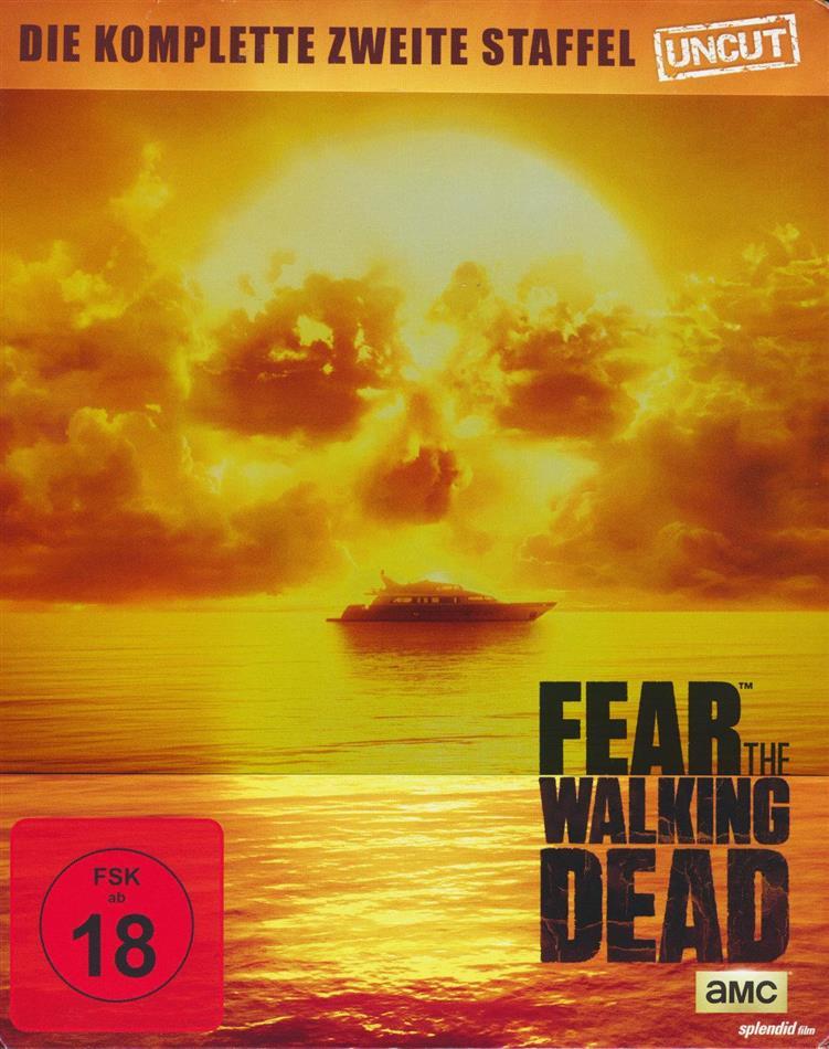 Fear the Walking Dead - Staffel 2 (Steelbook, Uncut, 4 Blu-rays)