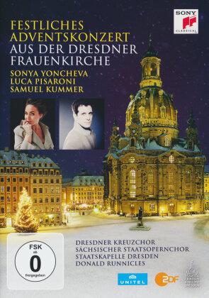 Sächsische Staatskapelle Dresden & Donald Runnicles - Festliches Adventskonzert 2015 Dresdner Frauenkirche (Sony Classical)