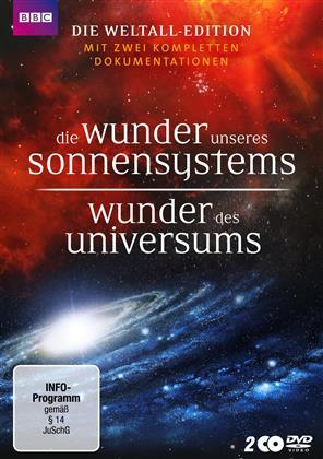 Die Wunder unseres Sonnensystems / Wunder des Universums (BBC, 2 DVD)