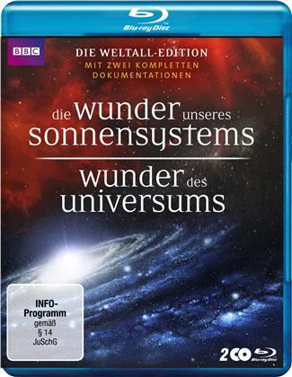 Die Wunder unseres Sonnensystems / Wunder des Universums (BBC, 2 Blu-rays)