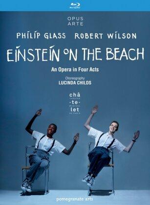 Philip Glass Ensemble, Michael Riesman, … - Glass - Einstein on the Beach (Opus Arte, 2 Blu-rays)