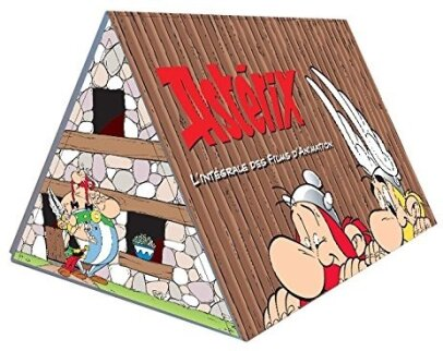 Asterix - L'intégrale des films d'animation (Collector's Edition, 9 DVDs)