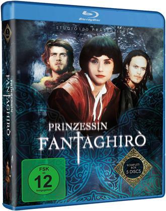 Prinzessin Fantaghirò - Komplett Box (Studio 100, 5 Blu-rays)