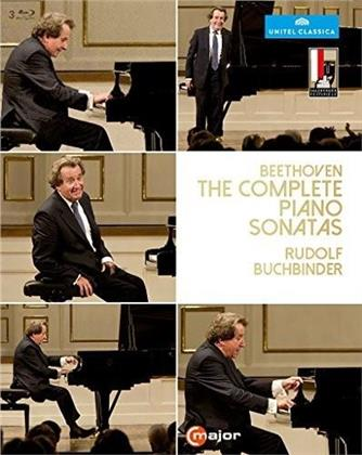 Rudolf Buchbinder - Beethoven - The Complete Piano Sonatas (C Major, Unitel Classica, 3 Blu-rays)