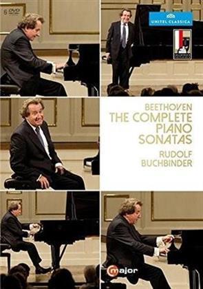 Rudolf Buchbinder - Beethoven - The Complete Piano Sonatas (C Major, Unitel Classica, 6 DVDs)