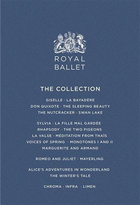 Royal Ballet, … - Royal Ballet Collection (Opus Arte, 15 Blu-rays)