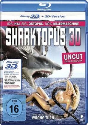 Sharktopus (2010) (Creature Movies Collection, Uncut)